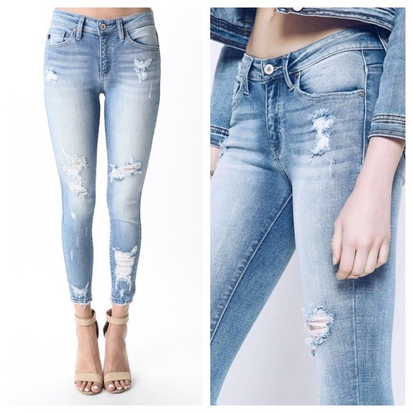 Kancan Jeans Kancan Cropped Skinny Ankle Jeans Poshmark